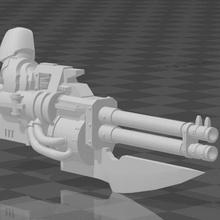 terminator butcher cannons 40k autocannon butcher butcher cannon chaos terminator warhammer warhammer 40k toy