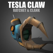 tesla claw - ratchet & clank game ratchet clank ratchet clank ratchet & clank tesla claw