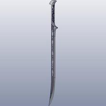 thranduil spada art anello spada thorin drago hobbit bilbo sauron gollum nano gli elfi gandalf legolas kili fili shire thranduil
