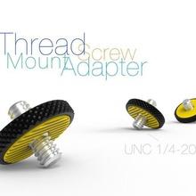 thread screw mount adapter unc 1 4-20 gadget gadget unc 1 4-20 thread screw photography mount adapter
