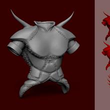 tibia demon armor - chaveiro miniatura jogo demônio armadura tibia chaveiro miniatura o personagem jogo jogos roupas demoníaca rpg