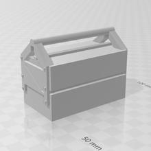 boîte outils échelle modelisme chemin fer train miniature 1 87 diorama