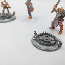 trap - dragon hunters - 28mm gaming game toy game accessories trap paw trap pathfinder miniatures lost dragons ground trap foot trap dnd bear trap 28mm