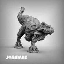 trex zombie figura dinosauro trex rex rettile mini warhammwr 40k ender 3