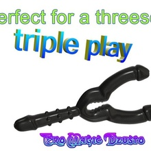 triple penis sex-toy lesbian female girl cuckold swingers mff anal vaginal double plug butt stretcher massager ass v313triple 3d print flex silicone naughties anus anal anally stretcher butt double dong loving tail g-point stimulate massager hook dildo plug dick penis sexual sex toy vagina anatomy vaginal 3d print cnc adult strapon cock seat recreation wood steel glass female woman orgasm lesbo lesbian