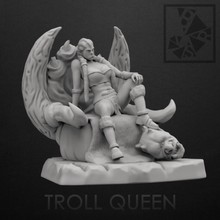 troll queen world troll girl queen throne head fantasy force scandinavia myth arrogance