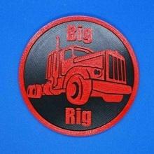 camion sottobicchiere grande rig sottobicchiere bevanda sottobicchiere camion segni_loghi