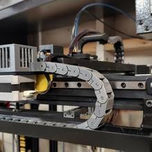 ender 5 cable administración caso funda 3d impresión ender 5 ender crealidad cable administración cadena ender 5 modificación bretware