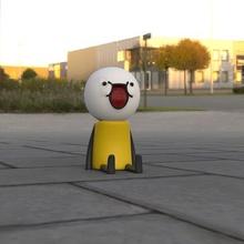un omino stickman seduto game toy toy man sio scottecs topolino fan art
