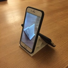 universal smartphone holder samsung huawei oneplus gsm phone iphone support and phone-stand gadget office video-conference selfies photos