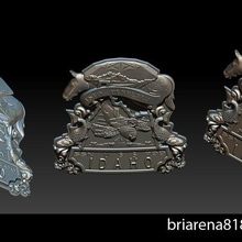 uss idaho sssn 799 ssn 799 idaho 3d printable shield officer weapons cop states america pendant meaning jewelry jewellery printing cnc model stl bracelets