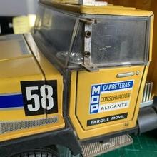 valtoy 80s camion specchio Mocio alicante strada Manutenzione Mocio specchio conservazione strade discarica camion valtoy