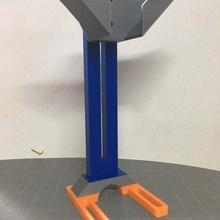 vat adjustable stand holder adjustable stand tall vat holder stand vat holder vat stand 3d_printer_accessories