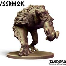 veermok game creature alien miniature veermok star wars starwars