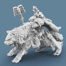 vikingo muerte sacerdote herramienta 40k astartes muerte marina sacerdote jinete espacio vikingos martillo guerra lobo Lobos 3d impresión