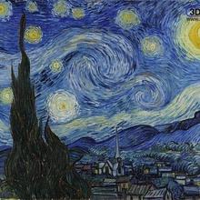 vincent van gogh - starry night lithophane art art lithopane lithophane painting starry night van gogh 2d art