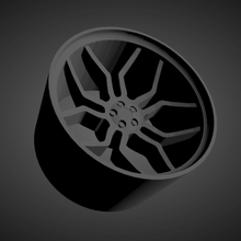 vossen hc 3 scalabile stampabile cerchi macchine Basso poli caldo ruote 1 18 1 24 1 25 1 32 1 43