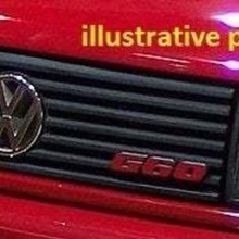 vw corrado g60 logo grill  car corrado  batch grill volkswagen vw corrado