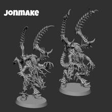 guerrieri tiranidi warhammer fantasia 40k gioco guerra minis mini figura ender 3 età of sigmar troll mostro demone tavola