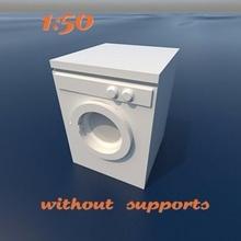 Lavado máquina escala diorama modelo modelar Bosquejo echelle maqueta 1 50 1 50 cifras mueble figuritas modelos escala modelo reducido modelo Lavado máquina lavandería ropa lavadora