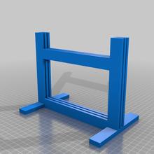 whambam estante soporte 2 platos 3d_printer_accessories