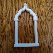 window ogee Bogen Schulter Säulen window Fenster Modell Mini Architektur Komponenten Elemente aufwendig islamisch Architektur ogee Säule