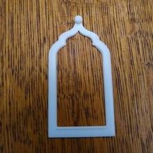 window ogee Bogen Schultern window Fenster Modell Mini Architektur Komponenten Elemente aufwendig islamisch Architektur ogee