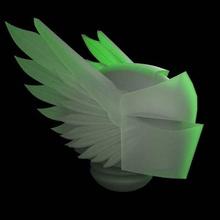 wing helmet 32mm 40k adeptus astartes angels aos astartes dark dark angels fantasy game head helmet primaris scifi space space marine tabletop wargame warhammer wing toy