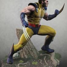 Wolverine stl Wolverine hayret heykel şekil Logan x men Yenilmezler