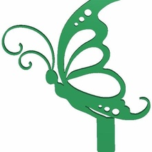 wonderful artificial butterflies butterfly garden outdoor lawn decor planter garden animal animals statue home decoration ground grass tree love rabbit bunny chicken hen rooster dog cat elephant tiger lawn summer outdoor outside flower household other collection kit