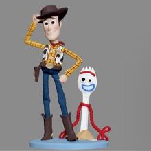 woody Oyuncak Hikayesi disney pixar karakteri Heykeli 3d yazıcı woody oyuncak hikaye pixar disney karakter heykel