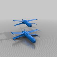 x-wings d13 dora - war 2 style scifi star wars xwing vehicles