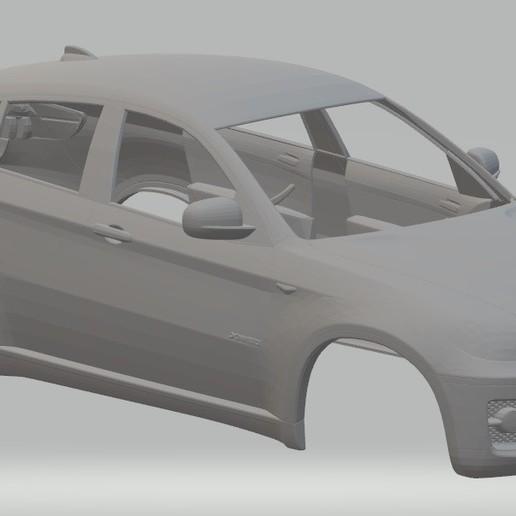 x6 e71 printable body car