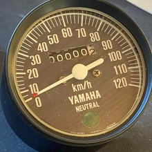 yamaha fs1 tachimetro remake 120kmh 140kmh ammortizzatori frizzante fs1 tachimetro yamaha settore automobilistico