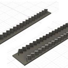 zig-zag single & double set fondant cutter various zig-zag simple double set fondant cutter