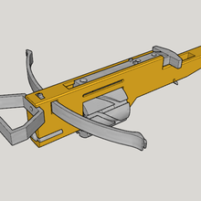 zig zag revolver cross bow v10 3d print kit bow art bow kit print 3d v10 bow cross revolver zag zig