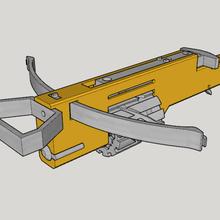 zig zag revolver cross bow v20 3d print kit bow art bow kit print 3d v20 bow cross revolver zag zig