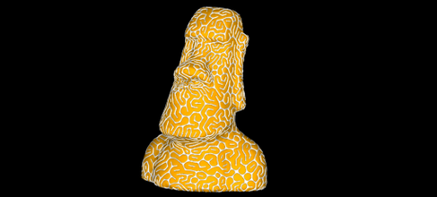 2 colors infinite pattern moi dizingof 3dizingofcom free-designs 2 colors infinite pattern moai - dizingof you can read here infinite pattern review 3dprintcom