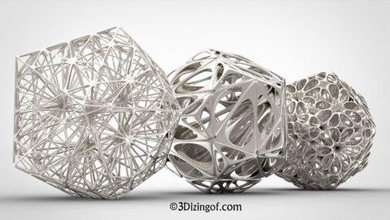 challenging complex volume-cells designs dizingof 3dizingofcom free-designs challenging complex volume-cells designs dizingof since stumbled upon 3d printing scene 2009 i've always still am fascinated design process r&d amongst dozens my design processes i've picked these 3 applied them simple math shapes - icosahedron & dodecahedron these design processes have unique properties aside aesthetics decor - can applied into any shape even irregular you can see youtube 3d viewer they theoretically strong solid shapes but less material used can applied various decor architectural landscapes constructions i've designed uploaded these 3 samples inspired new revolutionary metal jetting 3d printer - desktopmetalcom dizingof