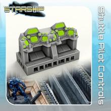 transporte piloto controles loja sci fi Estrela terreno miniatura scifi guerras tampo mesa nave estelar aterrissagem 28mm hangar openlock viajante Perigo localizador estrelas viajante