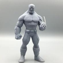 wolverine fan art figure marvel statue zbrush character super comic xmen wolverine sculpt organic fanart