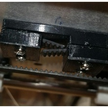 motor base mount & belt clamp tronxy p802 build 3d printer