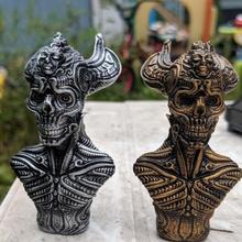 artefacto 7 Tienda antiguo artefacto busto fantasía cráneo ciencia ficción Giger resumen florido candyskull