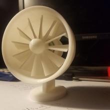 electric ducted fan kit & garden fan electricity