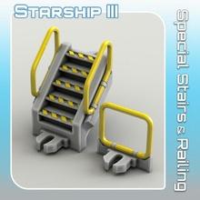 speciale scale ringhiera tavolo sci fi stella terreno miniatura scifi guerre tavolo nave stellare atterraggio 28mm hangar openlock viaggiatore Pericolo starfinder viaggiatore