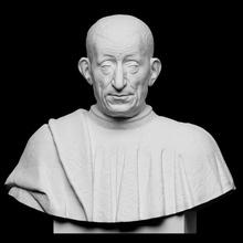 portrait pietro mellini scan bust portrait sculpture plaster pietro-mellini