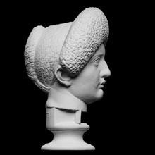 flavian donna giovane Giulia scansione fallimento ragazza ritratto scultura donna gesso flavian julia Giulia domna