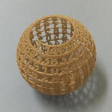 texto esfera matemáticas openscad pi esfera personalizador