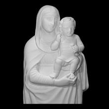 vierge enfant analyse bébé Jésus mère sculpture enfant marbre Madone Marie venise Christ vierge béni Lombardie