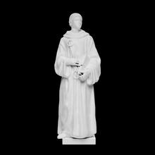 st Leonard taramak şekil adam heykel heykel Rönesans Floransa İtalya sırlı Leonard aziz st kil Della Andrea pişmiş çılgın sesli